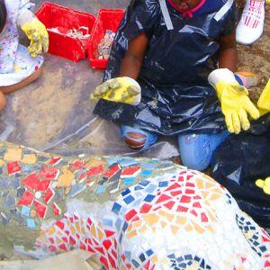 Mosaikskulptur